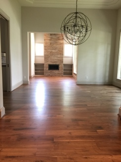 Wood floor refinishing in wood floor installations in San Antonio