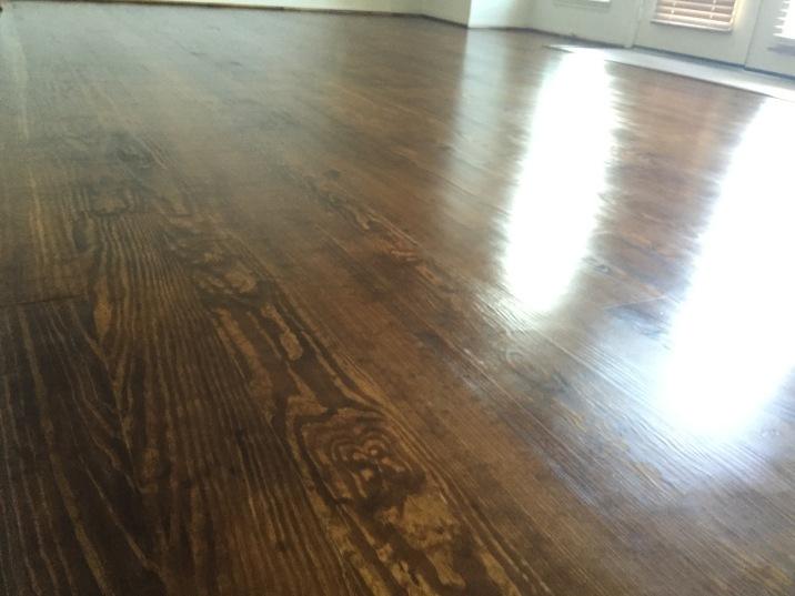 Wood floor refinishing in San Antonio Texas